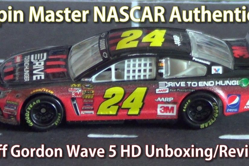 Spin Master NASCAR Authentics: The Ballad of the Jeff Gordon AARP DTEH  Unboxing/Review - YouTube