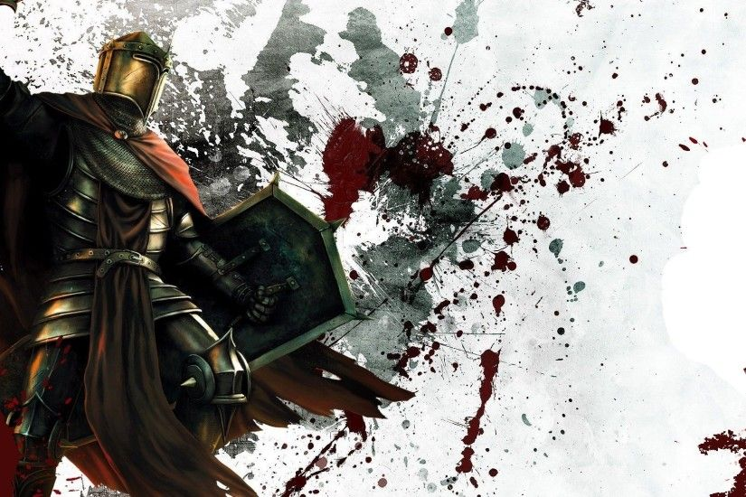 Gallery for - medieval knights fighting wallpaper