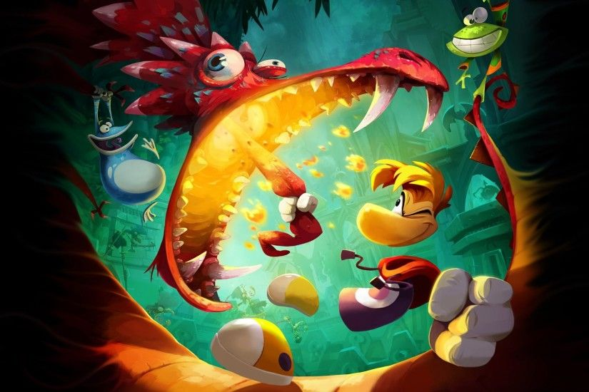 Rayman Wallpapers (p.891-XNJ) - D-Screens Backgrounds Collection