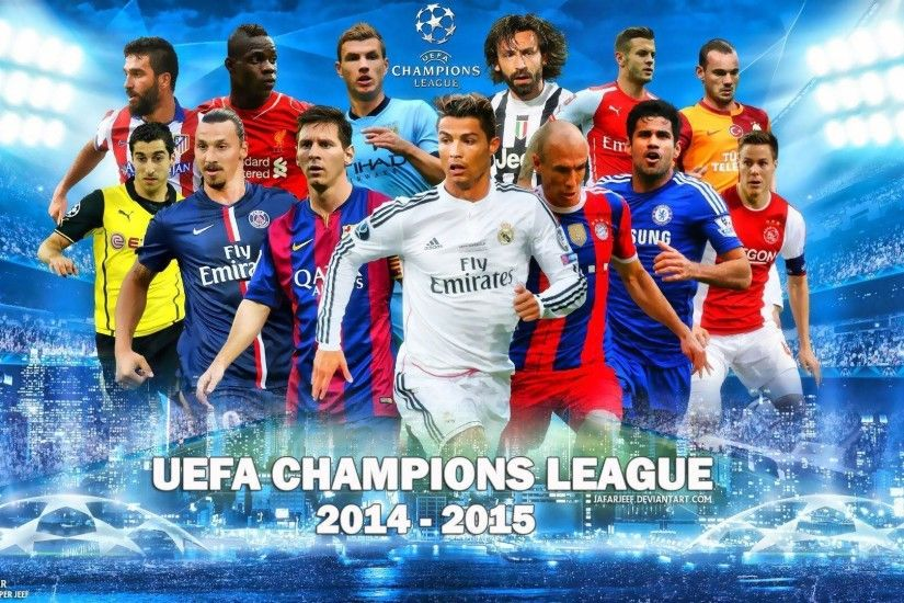 UEFA Champions League 2014-2015 Football Stars Wallpaper Wide or .