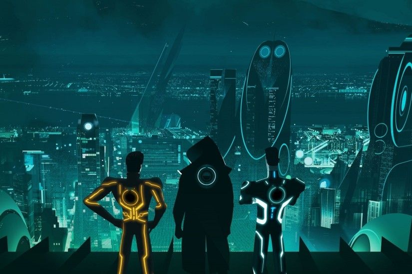 Tron, Tron: Uprising, Escape From Argon City, Video Games, Futuristic  Wallpapers HD / Desktop and Mobile Backgrounds