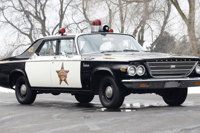 Police Car Wallpapers - WallpaperSafari