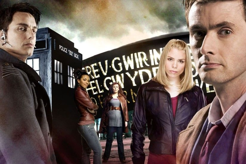 Doctor Who, The Doctor, TARDIS, David Tennant, John Barrowman, Billie  Piper, Tenth Doctor, Rose Tyler, Freema Agyeman Wallpapers HD / Desktop and  Mobile ...