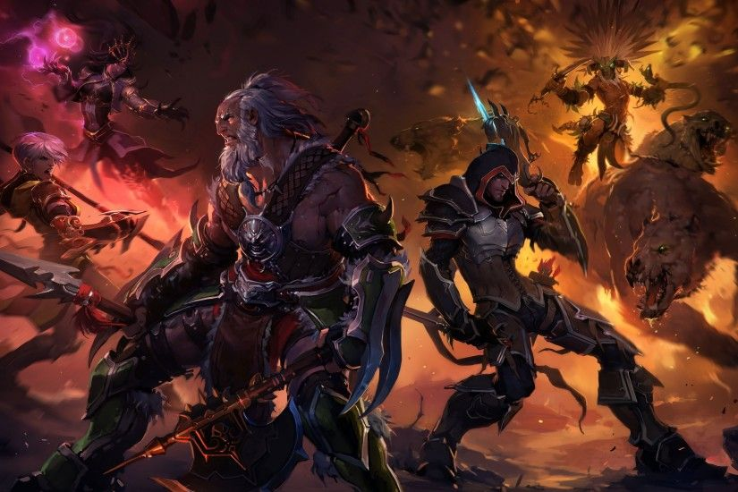 Diablo Iii Witch Doctor Diablo Iii Barbarian Diablo Iii Demon Hunter Di  Wallpaper