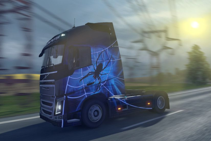 Euro Truck Simulator 2: Halloween Paint Jobs Pack Screenshot