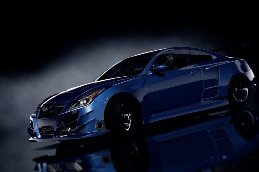car, Blue cars, Black background, 3D Wallpapers HD / Desktop and Mobile  Backgrounds