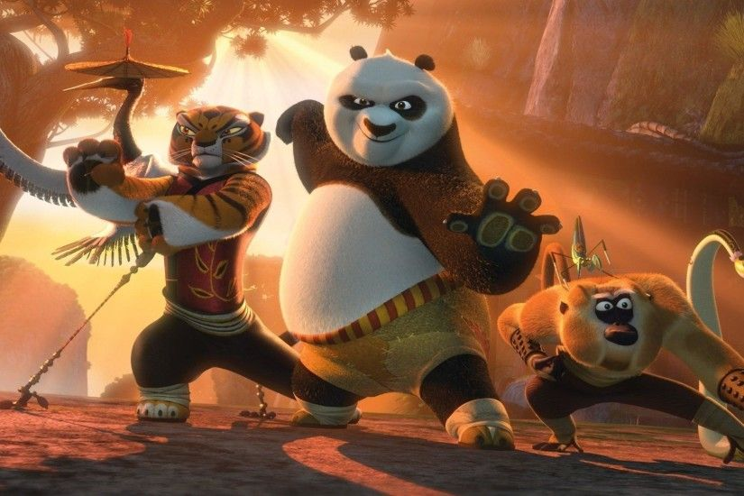 Download photos, pictures Furious five and the dragon warrior full hd  Wallpaper 1920×1080 Kung Fu Panda – Movies – 422