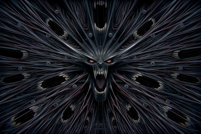 evil wallpaper by deligaris customization wallpaper macabre horror .