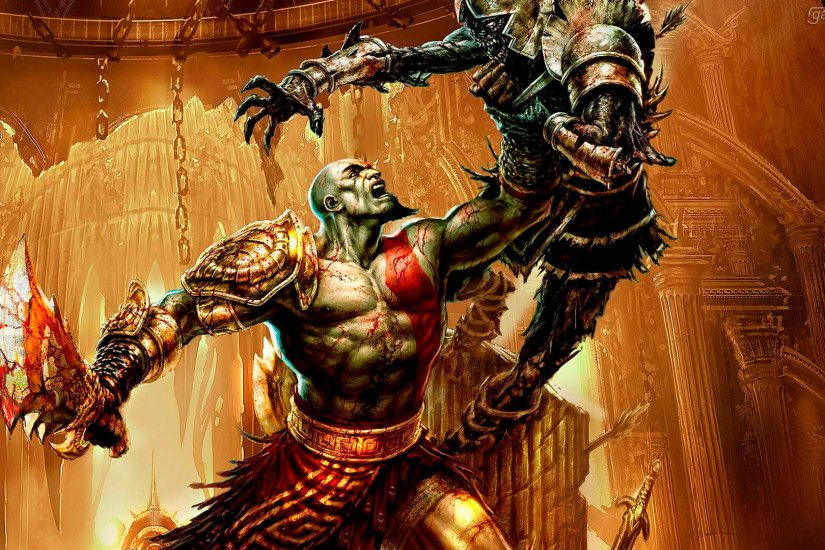 God of War III 1080p Wallpaper ...