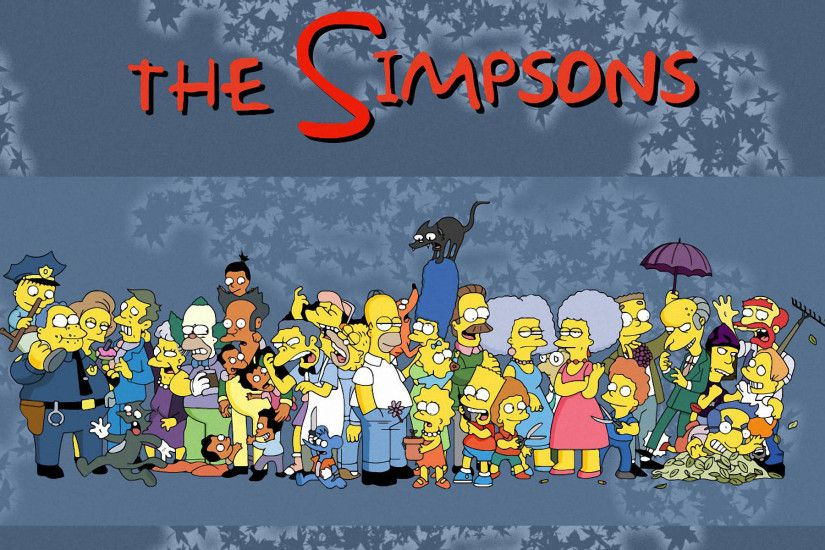 Laptop x The simpsons Wallpapers HD Desktop Backgrounds