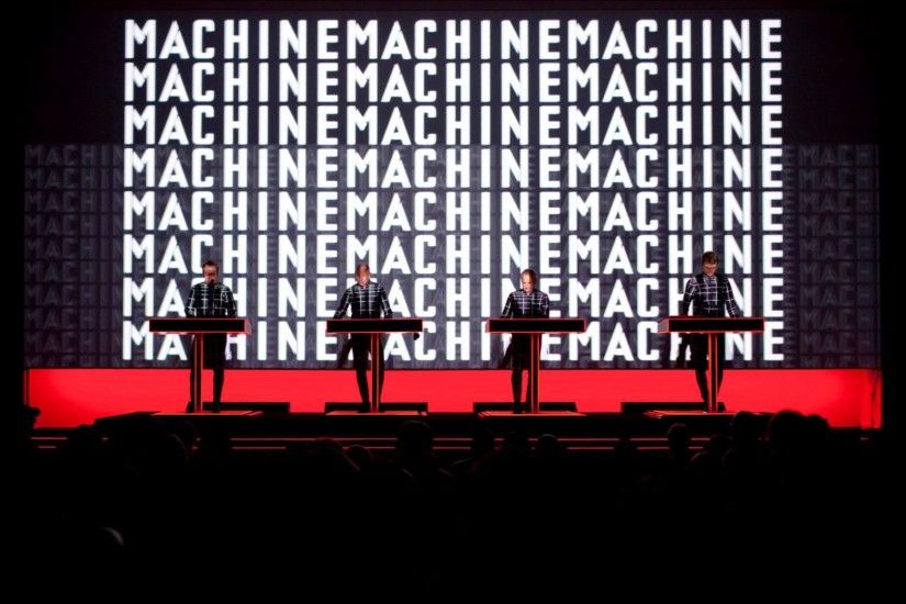 Kraftwerk - Live at MoMA (2012) - The Man-Machine [HD]