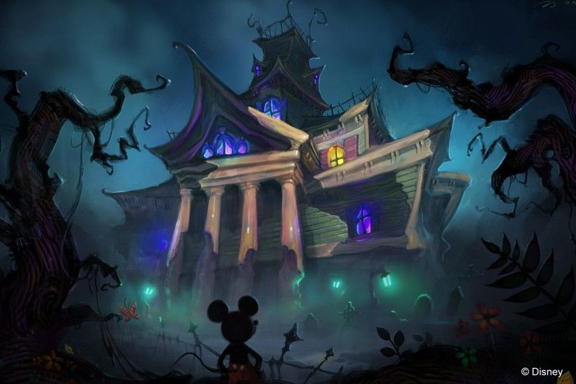 mickey mouse halloween wallpaper ; 01c47534472d3754493f7896081cb375