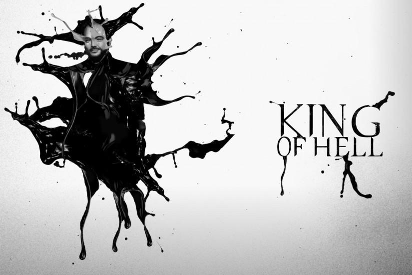 Supernatural Crowley King of Hell Wallpaper by chaostrauma