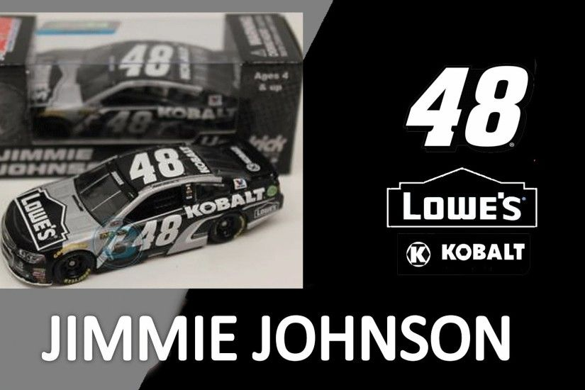NASCAR DieCast Review Jimmie Johnson KOBALT TOOLS 2016 1:64
