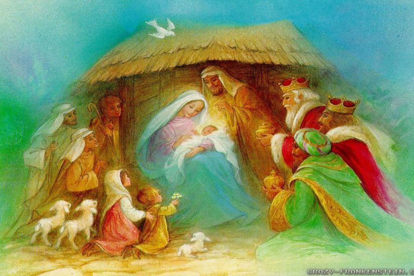 Christmas Nativity wallpapers - Crazy Frankenstein ...