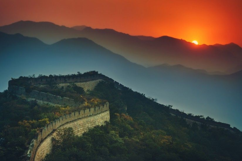 World / Great Wall of China Wallpaper