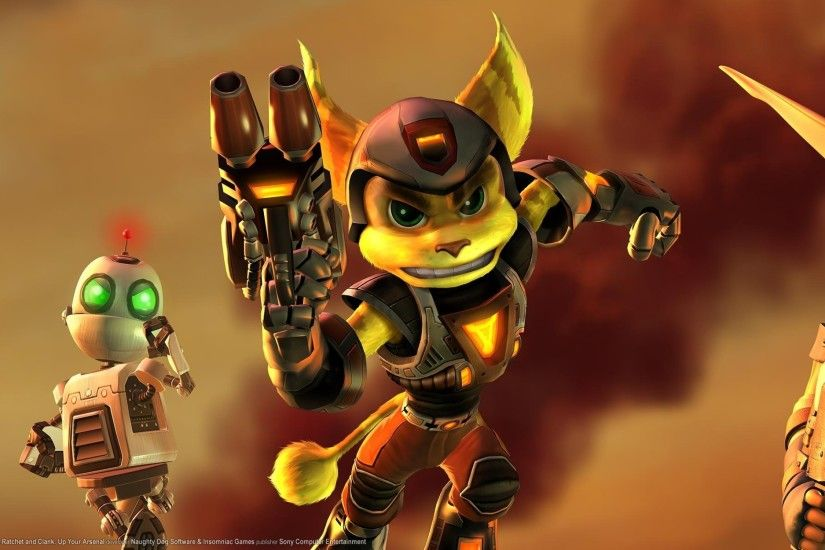 ratchet and clank insomnia naughty dog jak and daxter 3200x1200 wallpaper  Art HD Wallpaper