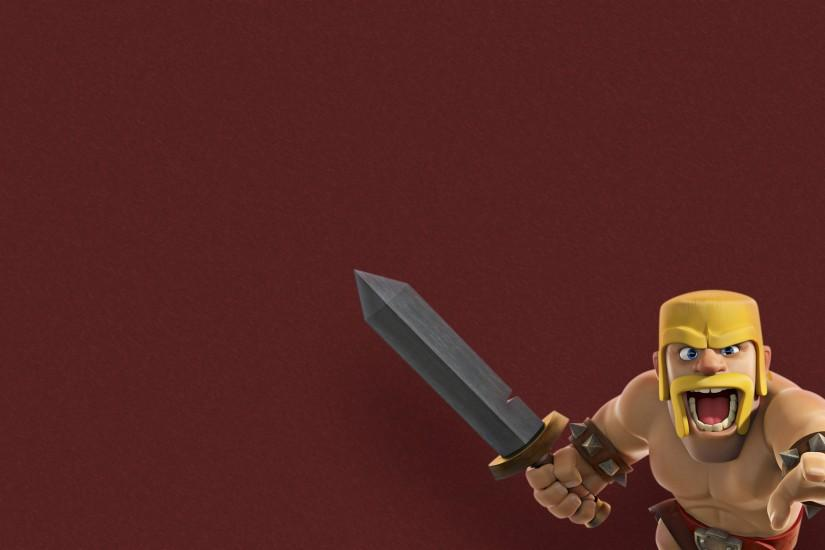 Barbaro. in Clash Of Clans Personajes Wallpaper