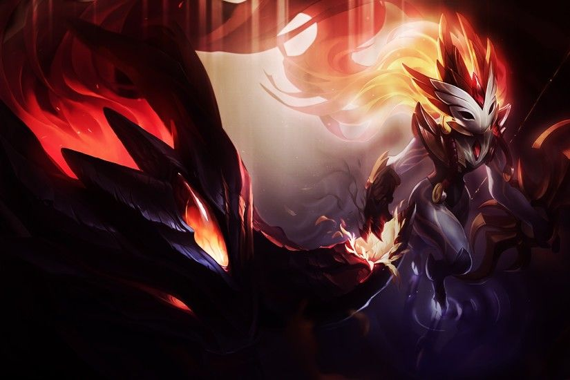 Shadowfire Kindred Lol 4k Wallpaper