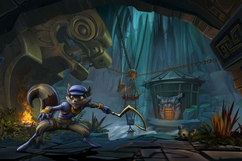 Free Sly Cooper: Thieves in Time Wallpaper in 1920x1080
