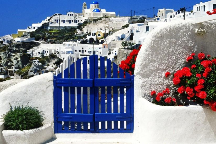 Santorini Greece Wallpapers - First HD Wallpapers