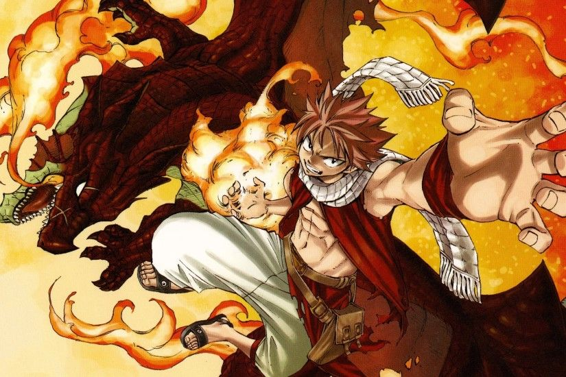 Natsu and igneel, Father and son the best combo