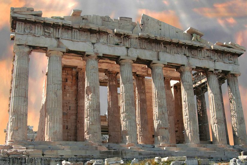 Man Made - The Parthenon Wallpaper