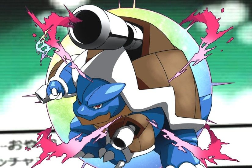 Pokemon X/Y: Blastoise's Mega Evolution! - Speed Art