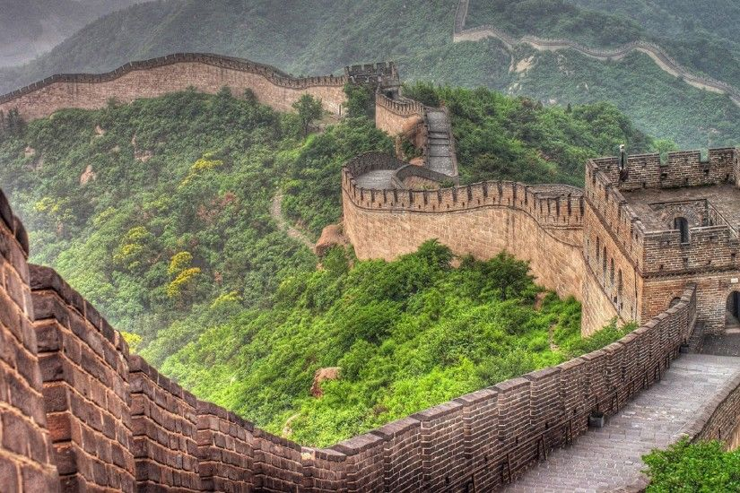 China walls world wonders wallpapers