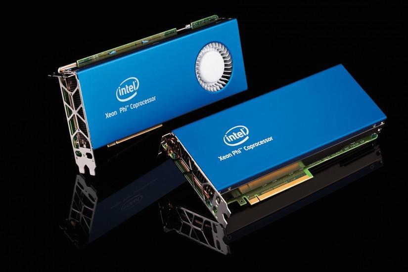 Supercomputer core hardware, Intel coprocessor card wallpaper thumb