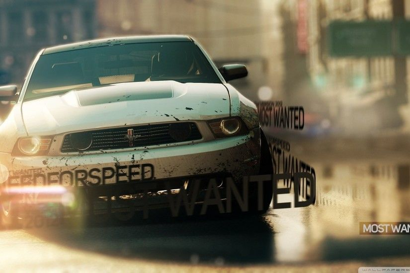 Video Game - Need For Speed: Most Wanted (2012) Wallpaper
