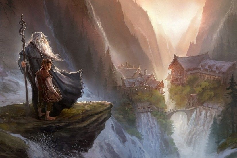 The Lord Of The Rings, Gandalf, The Hobbit, Imladris, Rivendell Wallpaper HD