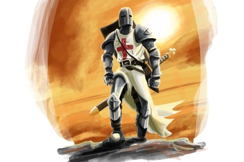 Templar Knight Wallpaper Photo On Wallpaper Hd 2880 x 1800 px 1.52 MB  crusader battle templar