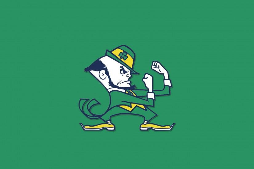 3840x2160 Wallpaper notre dame fighting irish, logo, university, notre dame