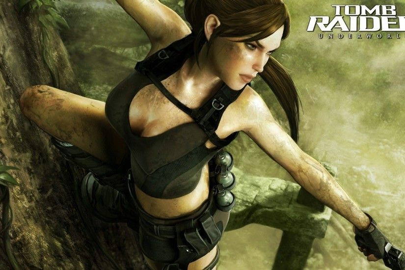 20 Tomb Raider: Underworld HD Wallpapers | Backgrounds - Wallpaper Abyss