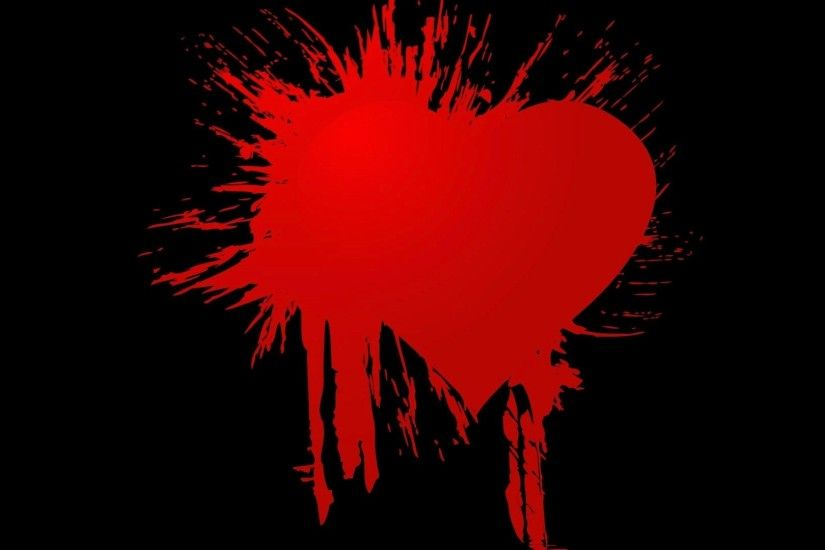 heart, mobile dark backgrounds, colourful, emo,mood, gothic, blood,mobile,  love, cool images, high resolution Wallpaper HD