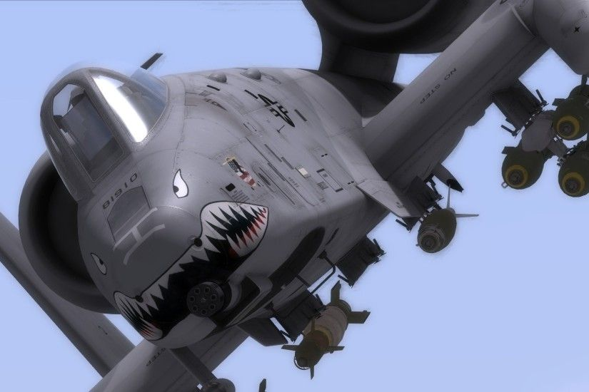 A-10 bomber jet fighter bomb military airplane plane thunderbolt warthog  (39) wallpaper | 1920x1080 | 250730 | WallpaperUP
