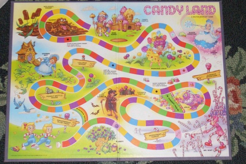 candyland board game | How to Make a Candy Land Board Game | eHow UK