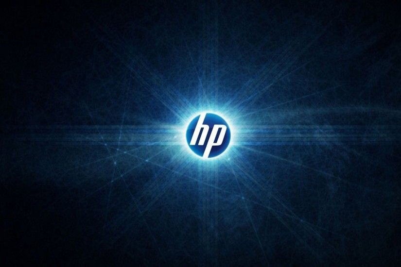 Preview wallpaper hp, logo, abstract 1920x1080