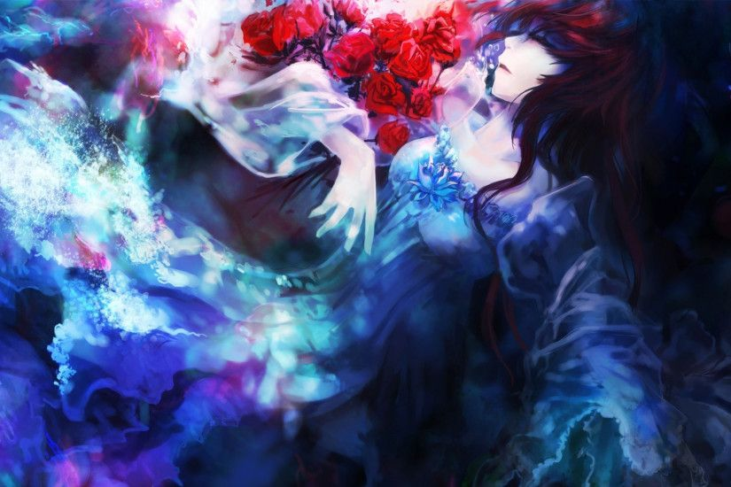 romantic anime wallpaper hd Wallpaper HD