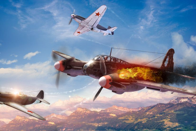 Games / War Thunder Wallpaper. War Thunder, World War II game