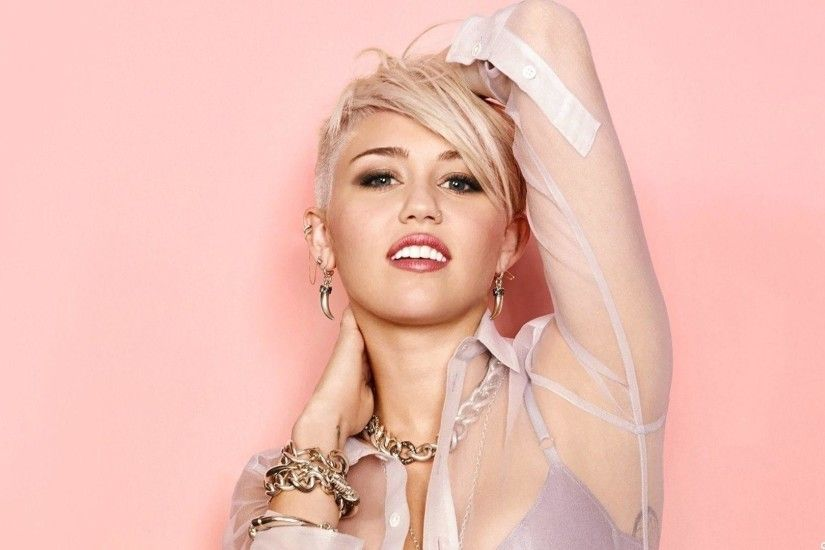Photo Collection Miley Cyrus Pink Wallpaper