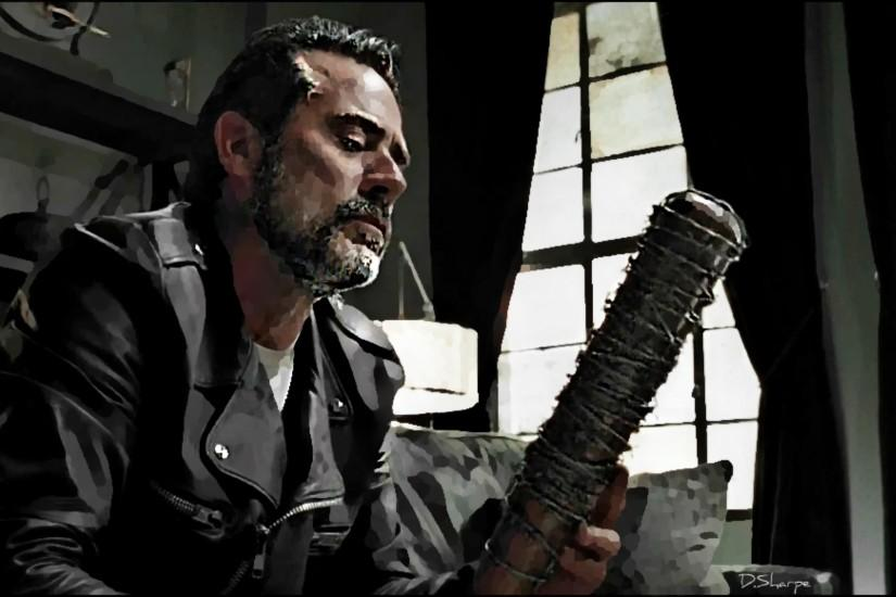 Negan and Lucille by deeds666 Negan and Lucille by deeds666