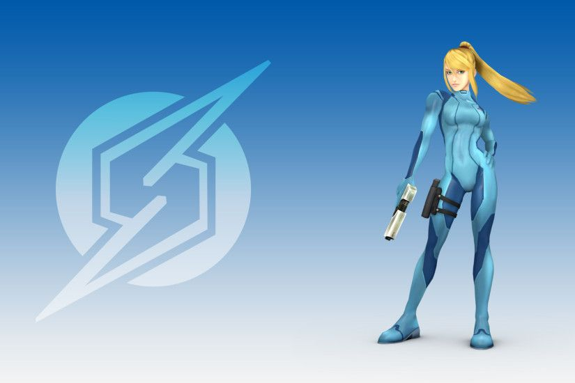 ... Zero Suit Samus [Wallapaper Pack] by Tailsmiles249
