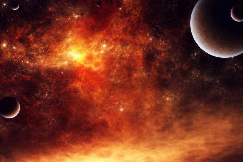 free download space background hd 1920x1080 notebook