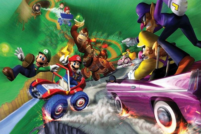 3 Mario Kart: Double Dash‼ HD Wallpapers | Backgrounds - Wallpaper Abyss