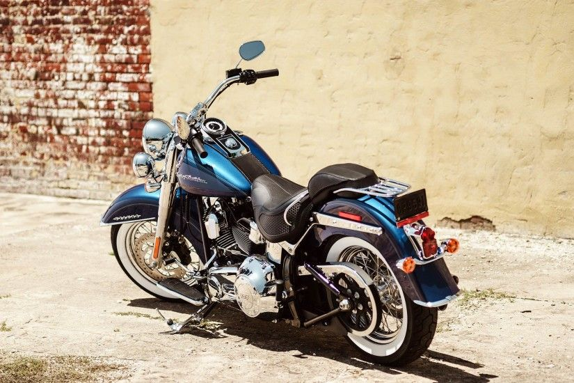 Harley-Davidson Softail Deluxe · HD Wallpaper | Background ID:758446