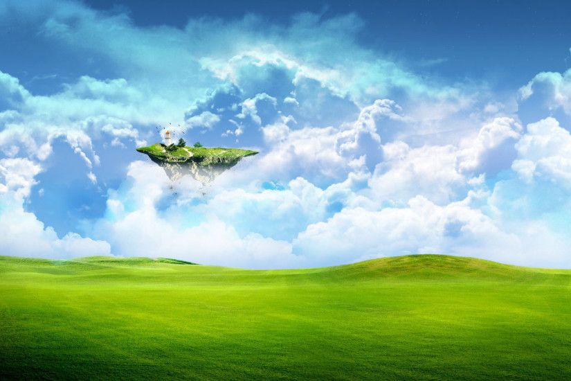 32 Floating Island HD Wallpapers | Backgrounds - Wallpaper Abyss ...