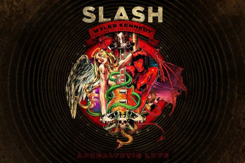 Slash Apocalyptic Love Rock Bands Music Album Covers 112620