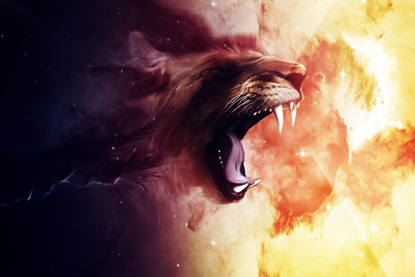 Roaring Lion Wallpapers | HD Wallpapers